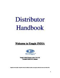 Distributor Handbook