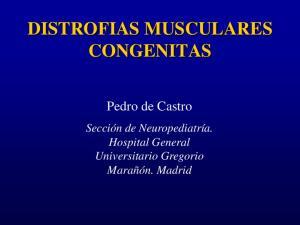 DISTROFIAS MUSCULARES CONGENITAS
