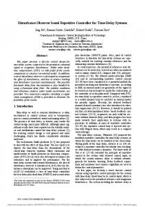 Disturbance Observer based Repetitive Controller for Time-Delay Systems