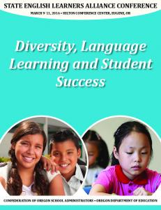 Diversity, Language Learning and Student Success