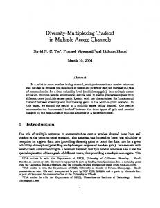 Diversity-Multiplexing Tradeoff in Multiple Access Channels