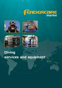 Diving services and equipment