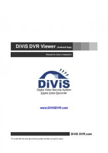 DiViS DVR Viewer (Android App)