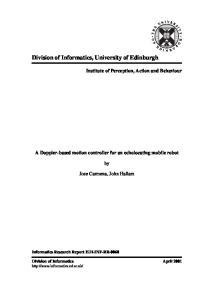 Division of Informatics, University of Edinburgh