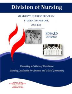 Division of Nursing. Promoting a Culture of Excellence: Nursing Leadership for America and Global Community