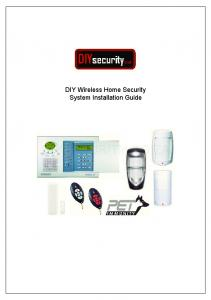 DIY Wireless Home Security System Installation Guide