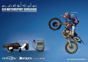DJO MOTORSPORT CATALOGUE