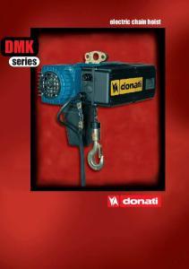 DMK. series. electric chain hoist