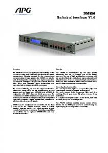 DMS26 Technical brochure V1.0