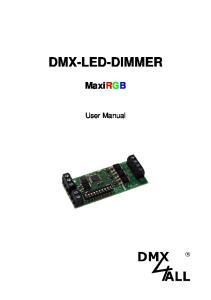 DMX-LED-DIMMER MaxiRGB