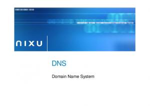 DNS. Domain Name System