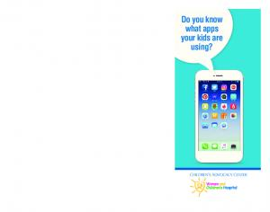 Do you know what apps your kids are using?