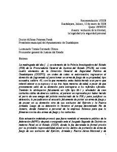 Doctor Alfonso Petersen Farah Presidente municipal del Ayuntamiento de Guadalajara