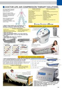 DOCTOR LIFE AIR COMPRESSION THERAPY SOLUTIONS