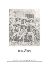 DOCUMENTO RELACIONES 105, INVIERNO 2006, VOL. XXVII