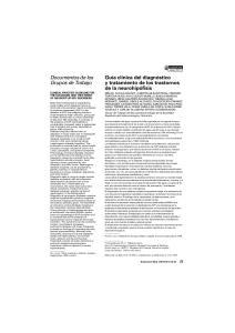 Documentos de los Grupos de Trabajo