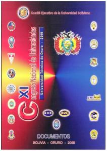 DOCUMENTOS DEL XI CONGRESO NACIONAL DE UNIVERSIDADES