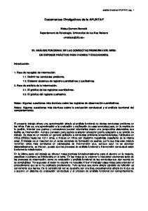 Documentos Divulgativos de la AFUNTAP