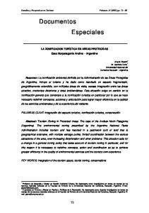 Documentos Especiales