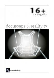 docusoaps & reality tv