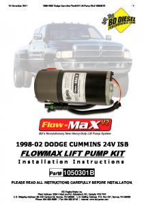 DODGE CUMMINS 24V ISB