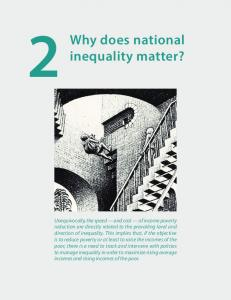 does national inequality matter?