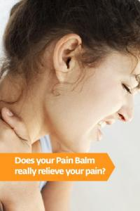 Does your Pain Balm really relieve your pain?