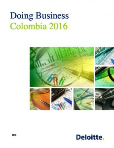 Doing Business Colombia 2016