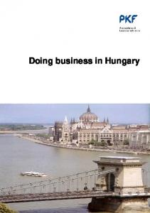Doing business in Hungary