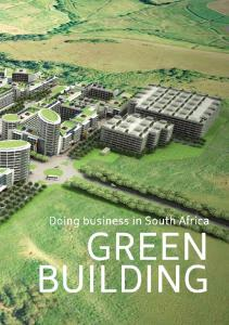 Doing business in South Africa GREEN BUILDING