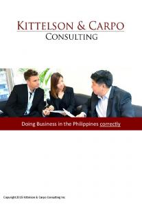Doing Business in the Philippines correctly