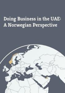 Doing Business in the UAE: A Norwegian Perspective