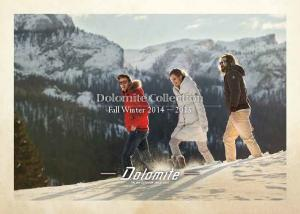 Dolomite Collection Fall Winter 2014 ~ 2015
