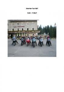 Dolomiten Tour
