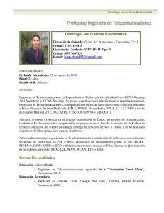 Domingo Jesus Rivas Bustamante