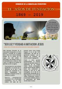 DOMINICAS DE LA INMACULADA CONCEPCION