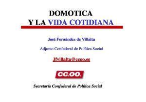 DOMOTICA Y LA VIDA COTIDIANA
