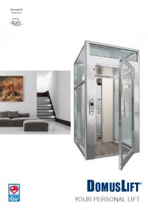 DomusLift ENGLISH. Your personal lift