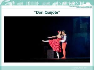 Don Quijote COORDINACIÓN DE