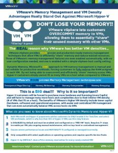 DON T LOSE YOUR MEMORY!!