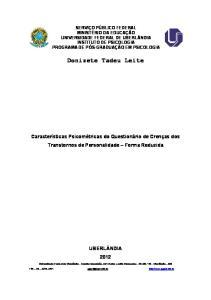 Donizete Tadeu Leite