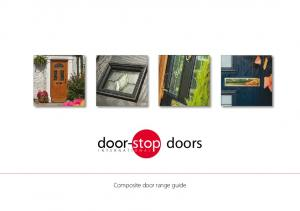 doors Composite door range guide