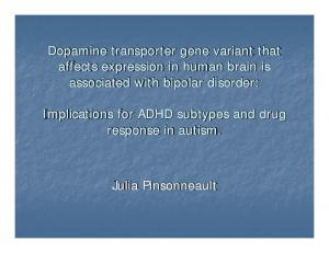 Dopamine transporter gene variant that affects expression in human brain is associated with bipolar disorder:
