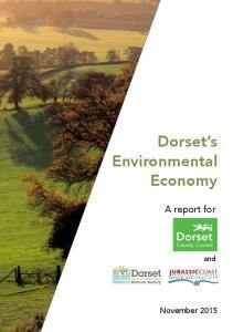Dorset s Environmental Economy