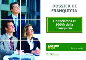 DOSSIER DE FRANQUICIA