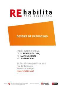 DOSSIER DE PATROCINIO
