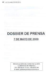 DOSSIER DE PRENSA 7 DE MAYO DE 2009