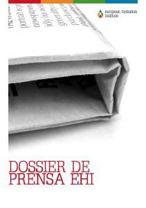 DOSSIER DE PRENSA EHI