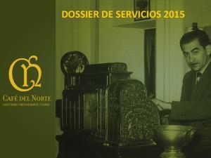 DOSSIER DE SERVICIOS 2015
