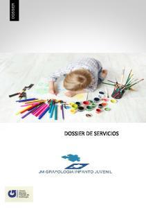 DOSSIER DOSSIER DE SERVICIOS